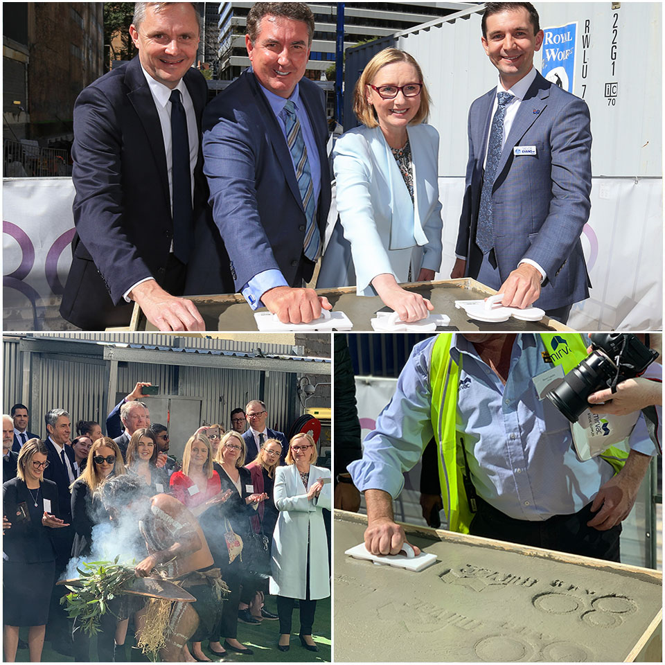 ▲ The event was attended by the Hon. Trevor Evans MP, Federal Member for Brisbane; anchor tenant, Suncorp; and Mirvac.