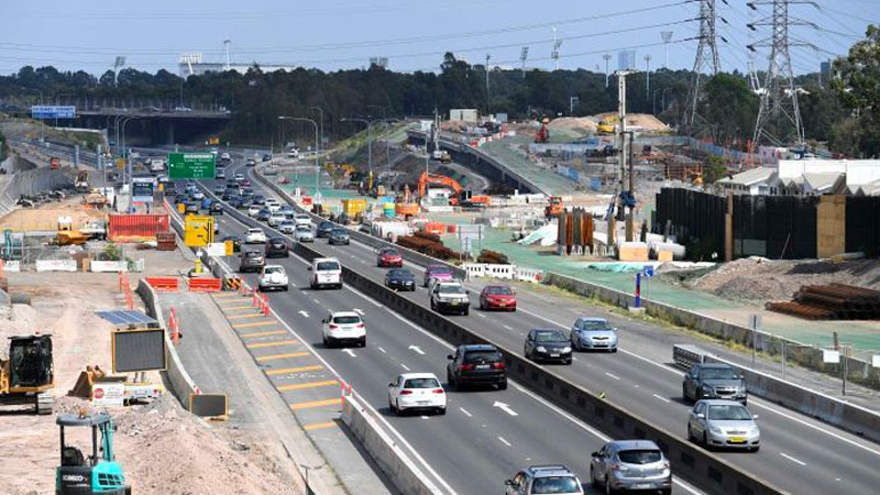 ▲ The state government has committed $107 billion will be spent on infrastructure, to generate 145,000 jobs each year.