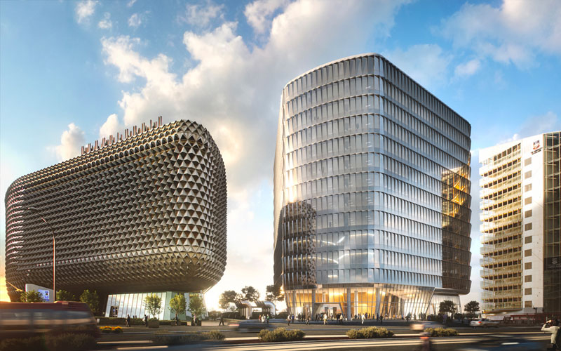 SAHMRI 2 Adelaide development project