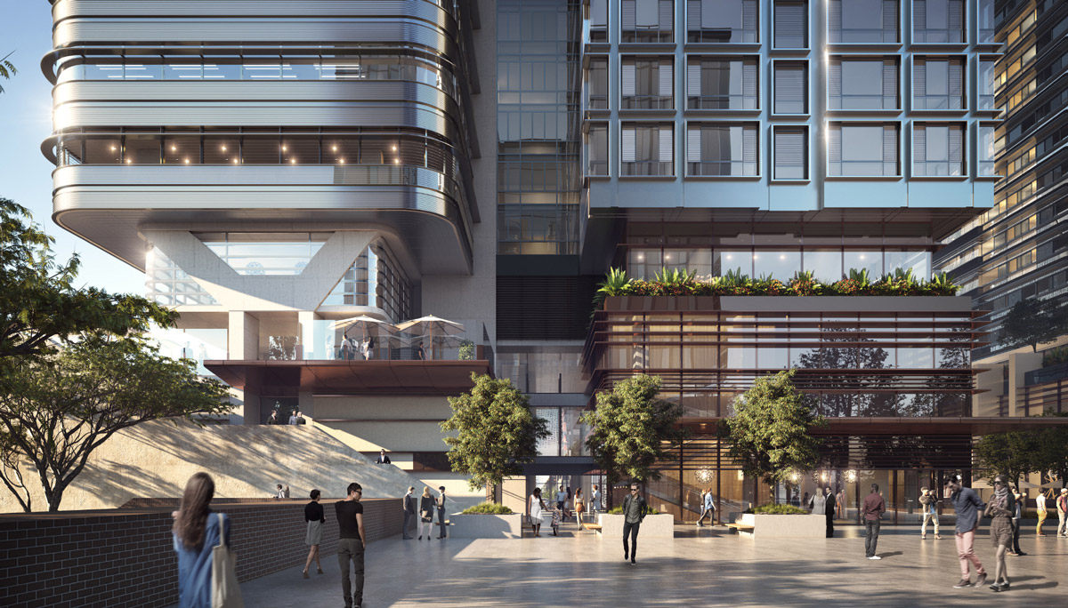 Thee University of Technology Sydney is taking out a 15-year lease for 100 per cent of the six-level building for its grad school of health.