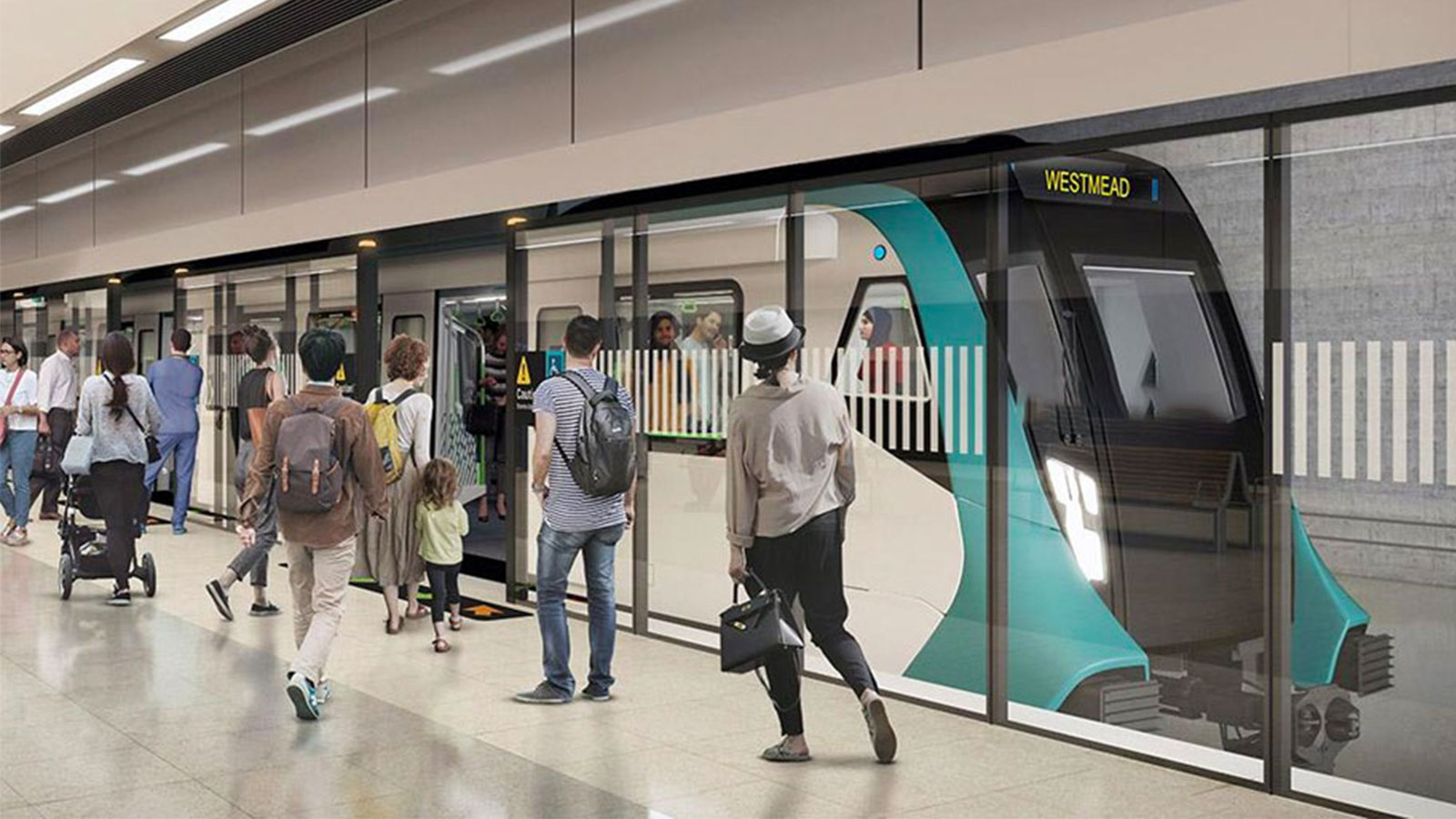 ▲ Adding the impetus to Parramatta as an emerging office market is the planned Western Sydney Metro rail line that will connect it to the Sydney CBD by a 20-minute train ride.