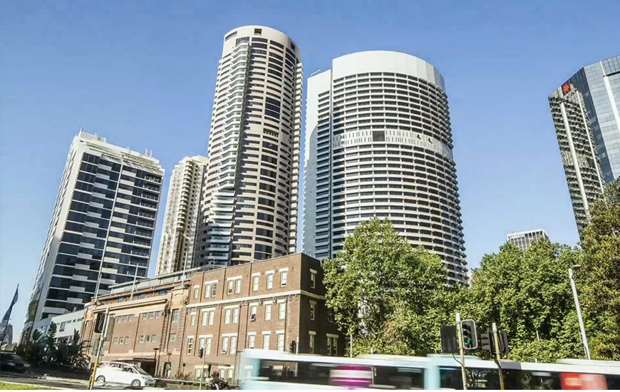 ▲ Dexus is selling a 50pc stake in the Harry Seidler-designed Grosvenor Place.