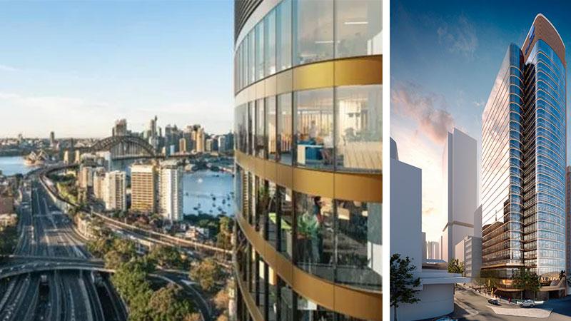 ▲ Plans for fjmt designed 118 Mount Street in North Sydney.