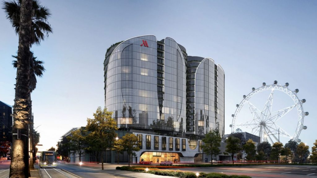 Capital Alliance's proposed $250 million mixed-use apartment and hotel project, The Docklands.