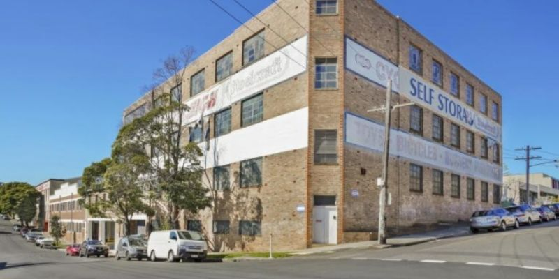 ▲ Leichhardt development. The historic warehouse in Sydney's inner west sold for $38 million in 2019 and currently occupies the site. 40-76 William Street in Leichhardt.