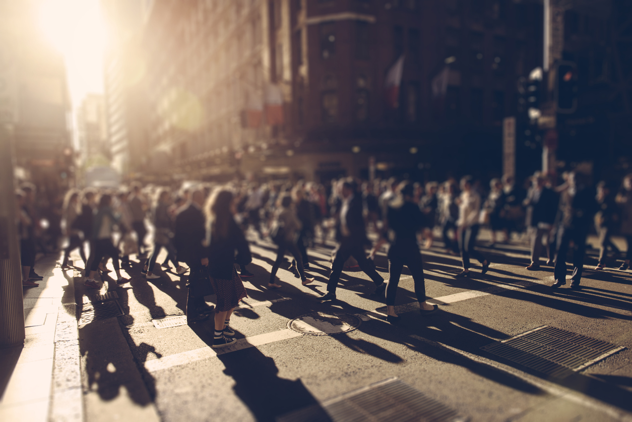 Less space and a growing population means we need to focus on moving people more efficiently.