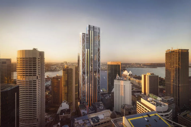 Located between George and Pitt Streets, Circular Quay Tower is primed as Sydney's tallest office tower.