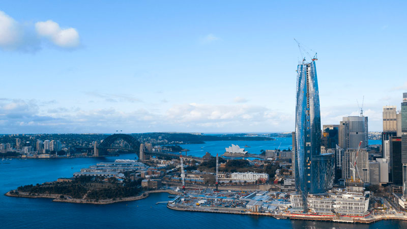 ▲ Grocon has launched a $270 million legal action claiming damages from the soured deal at the Barangaroo precinct.