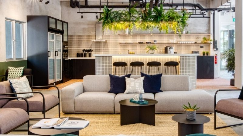 ▲ Inside one of Hmlet's properties: its departure from the co-living space in Australia has been a game-changer.