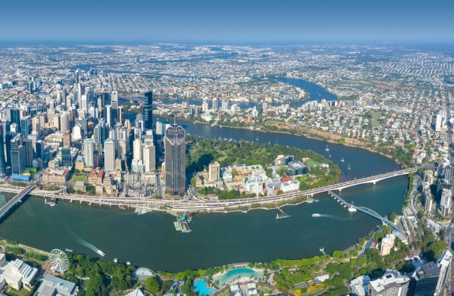 Brisbane's decline lasted just four months when values recovered to a new high by October, 2020.