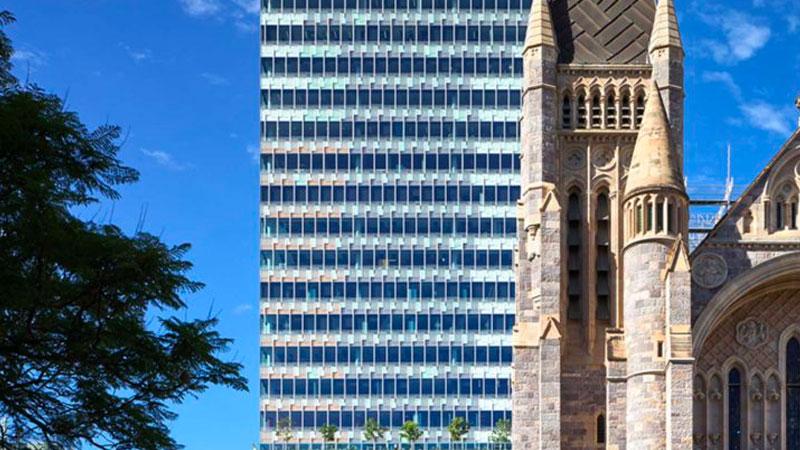 ▲ Developer Grocon sought alternative financing arrangements, including high-interest mezzanine financing, after expanding into two major projects in Queensland.