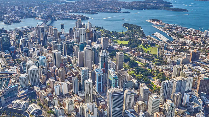 ▲ The project's $35 million penthouse will boast 270-degree vistas over the iconic Sydney Harbour and CBD, as well as across Barangaroo and Darling Harbour to the Blue Mountains.