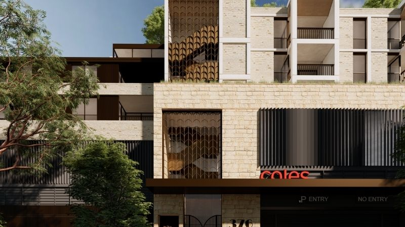 """▲ Research indicates """"shop top"""" developments like Balfour Place achieved an average 16 per cent premium on prices compared to suburb averages."""
