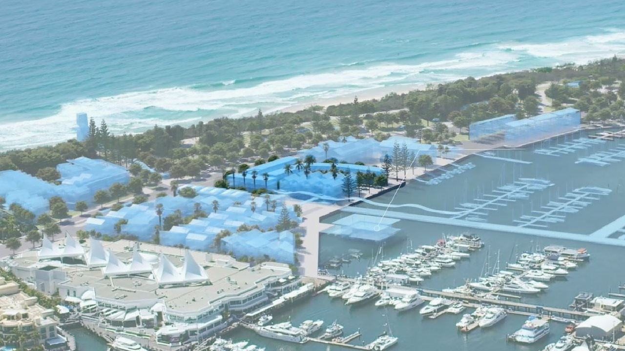 Village Centre South precinct at The Spit on the Gold Coast