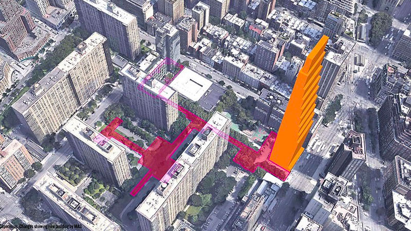 ▲ The decision at 200 Amsterdam comes amid a wave of opposition to high-rise developments across New York City.