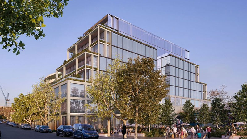 ▲ Vicland's plans for a commercial and retail development proposed for Toorak Road.
