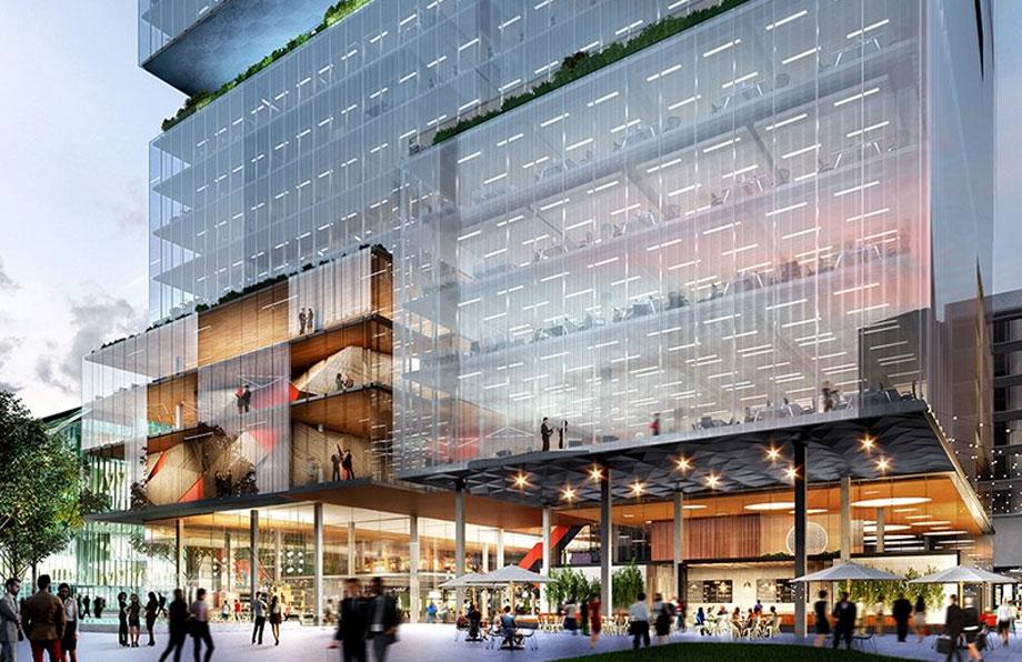 ▲ 2 Parramatta Square render. Image: JPW Architects
