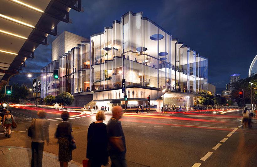 NPAV Brisbane Performing Arts Centre QPAC Development Construction