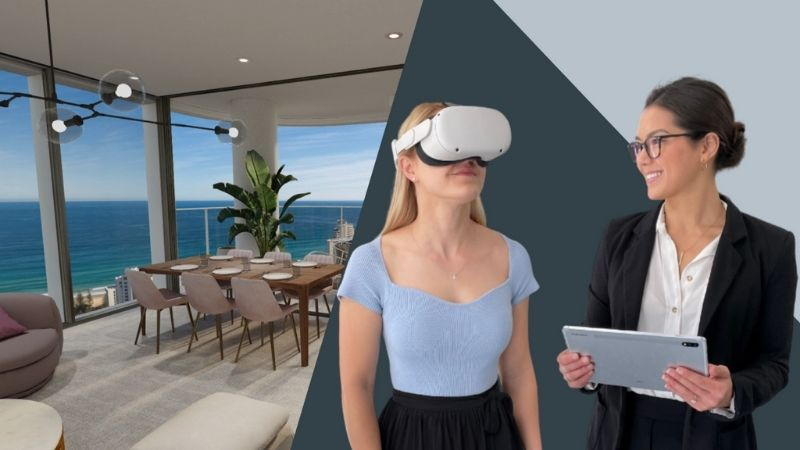 ▲ The pandemic has accelerated the uptake of VR technology in the property development sector.