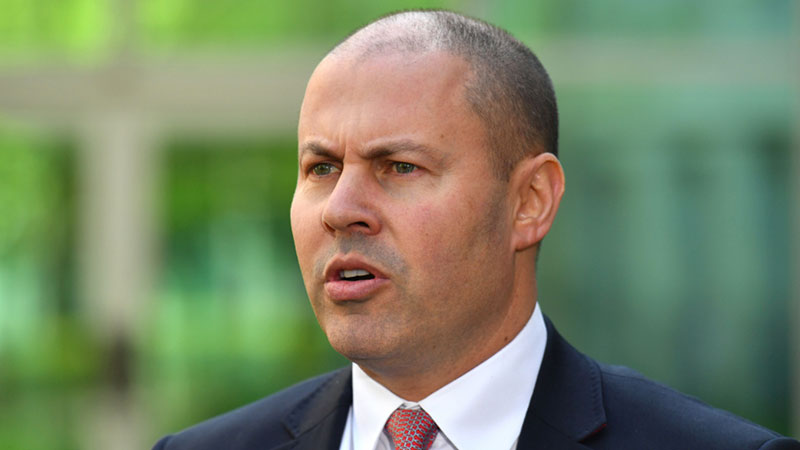 ▲ Treasurer Josh Frydenberg confirmed that the 10 per cent rate is expected when the figures for the June quarter are released. The unemployment rate currently sits at 5.1 per cent.