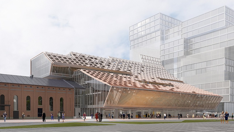 ▲ 5 Parramatta Square will be the new home of council chambers and the library.