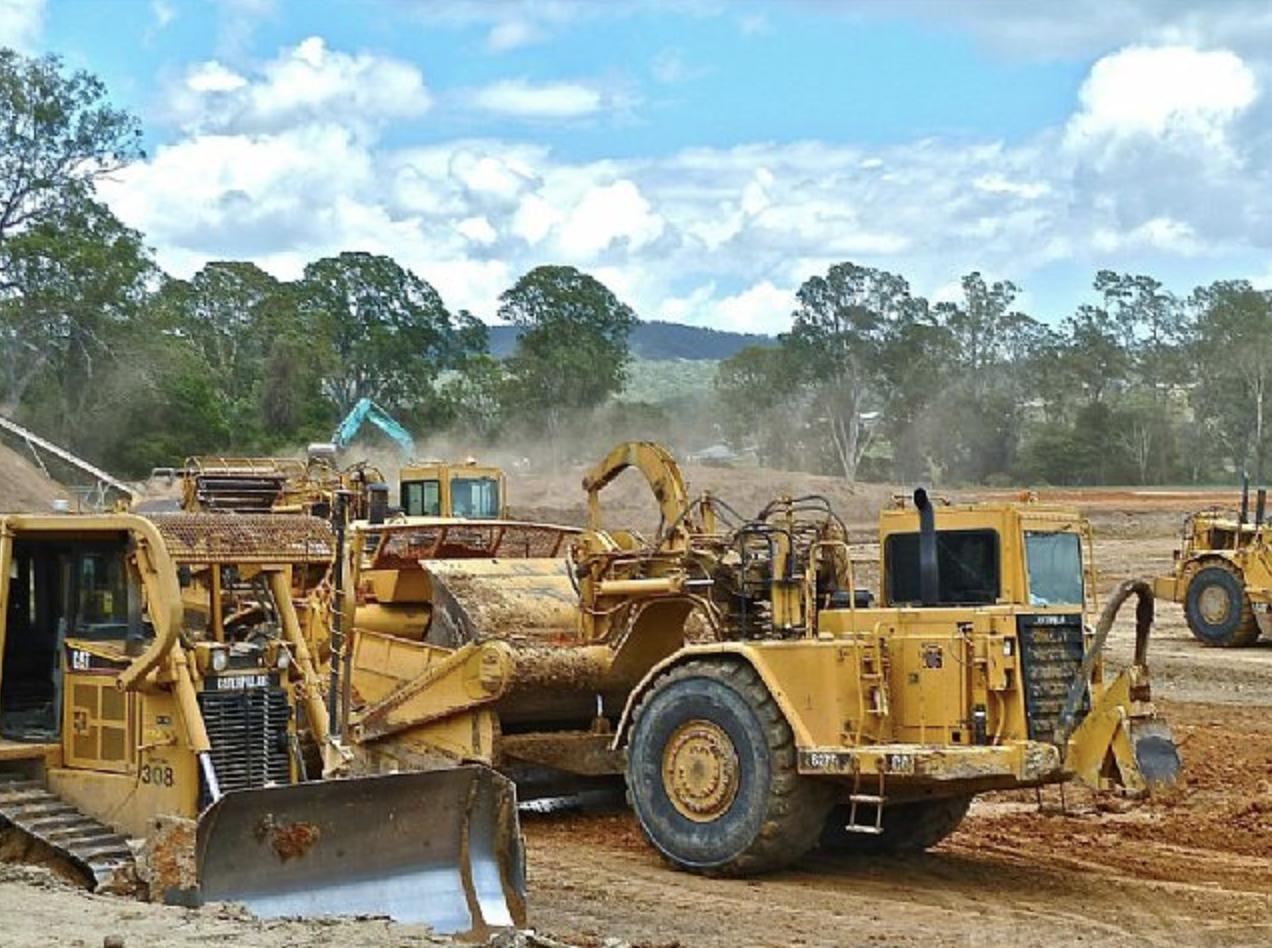 Earthworks commenced for Western Sydney Airport in September.