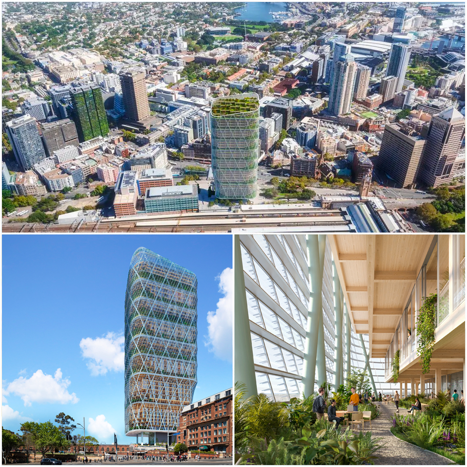 ▲ Standing at 40 storeys, the skyscraper will transform the skyline because, for one, it will not adopt a traditional appearance. Image: SHoP Architects, BVN Architecture