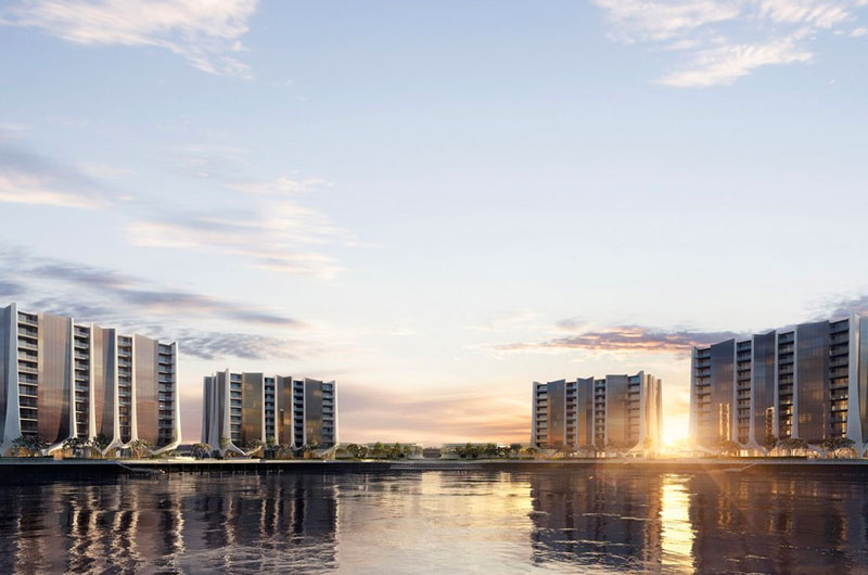 The Lanes Residences Development Project Sunland Group Gold Coast