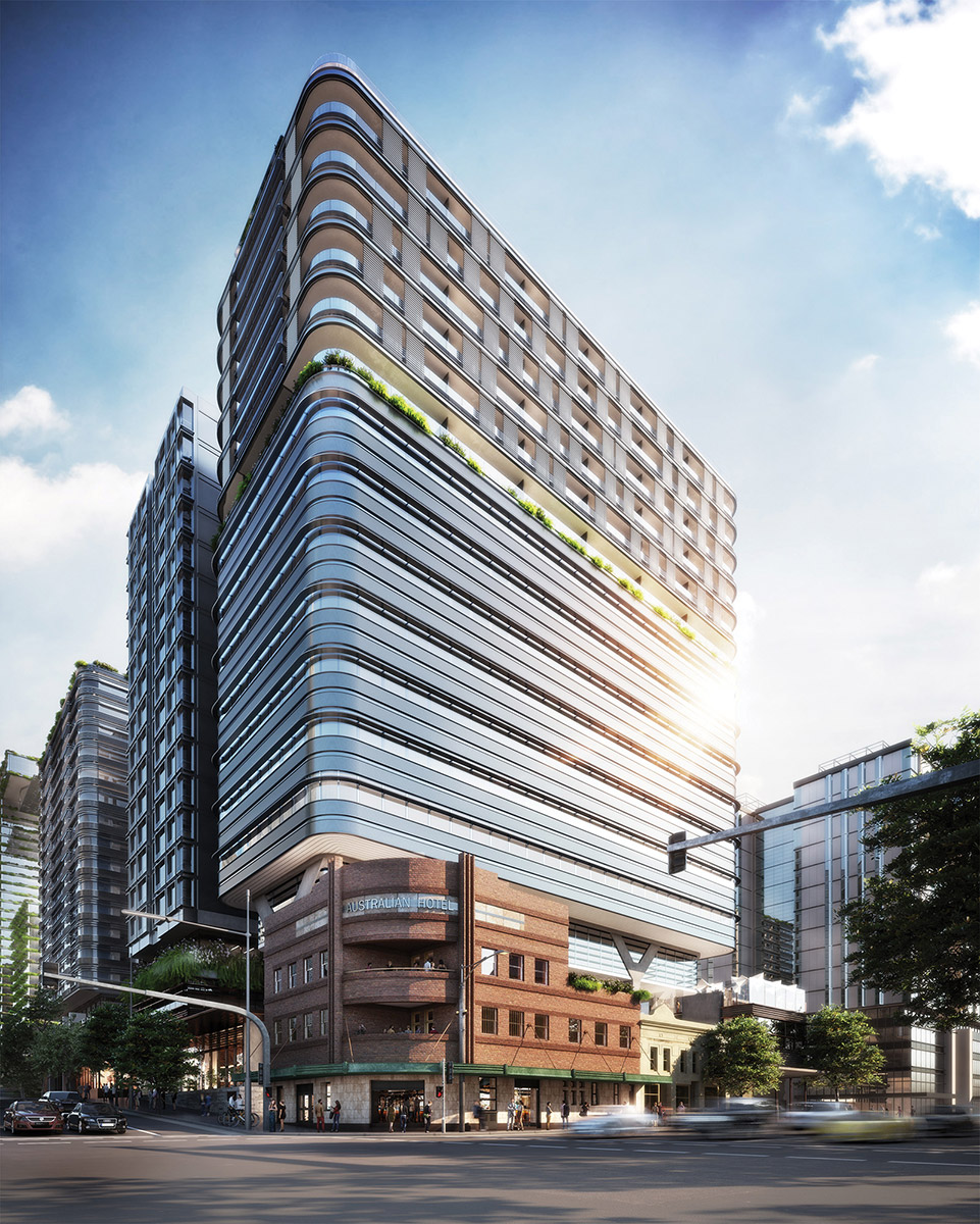 One Hundred Broadway has been designed by architects Foster + Partners.