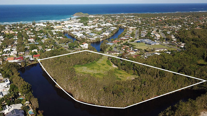 ▲ Cabarita is located on the Tweed Coast of northern NSW between Byron Bay and the Gold Coast.