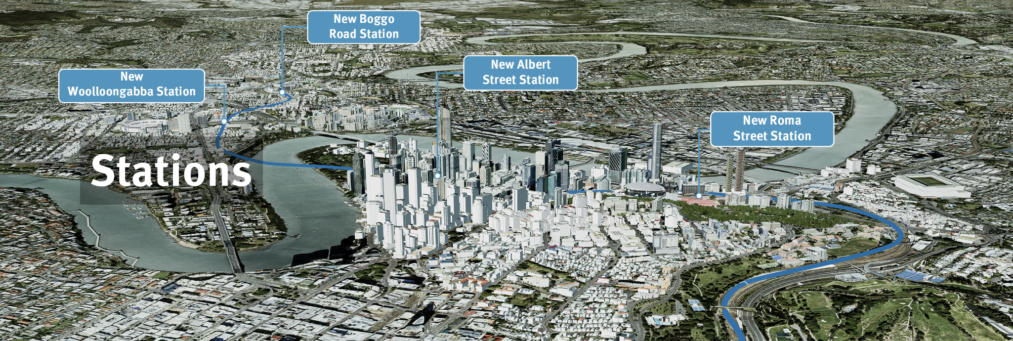Key 'game changers' propose to build upon the $5.4 billion Cross River Rail.