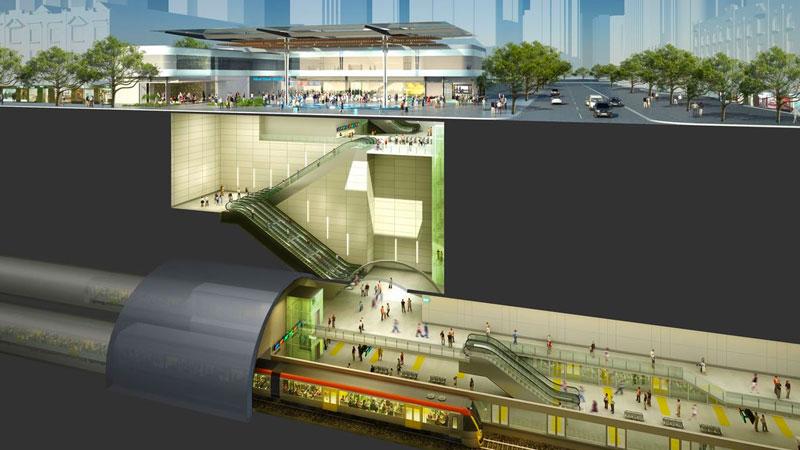 Major infrastructure projects - Cross River Rail Brisbane