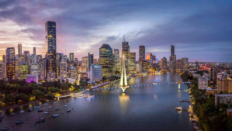 ▲ The Queensland government said construction of the infrastructure would create 500 jobs as well as hundreds of supplier opportunities. Image: COX Architecture/ARUP