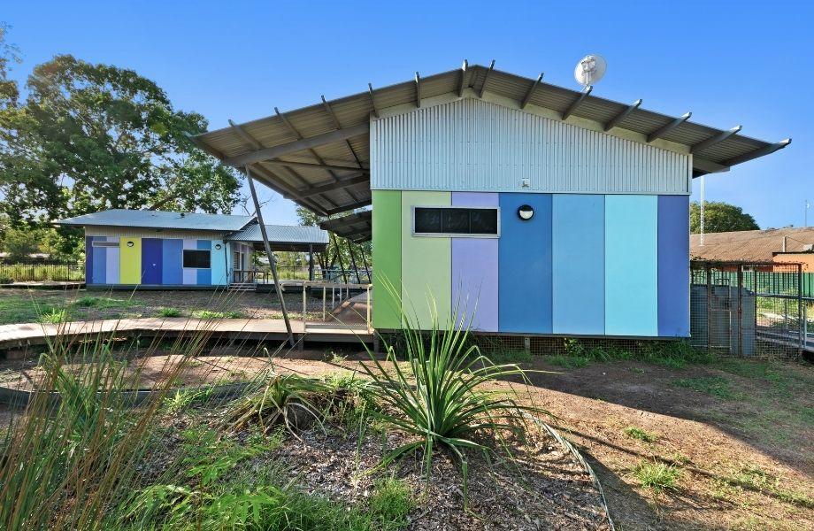 ▲ MODE's ALC Cultural Centre, Angurugu, Groote Eylandt, NT.