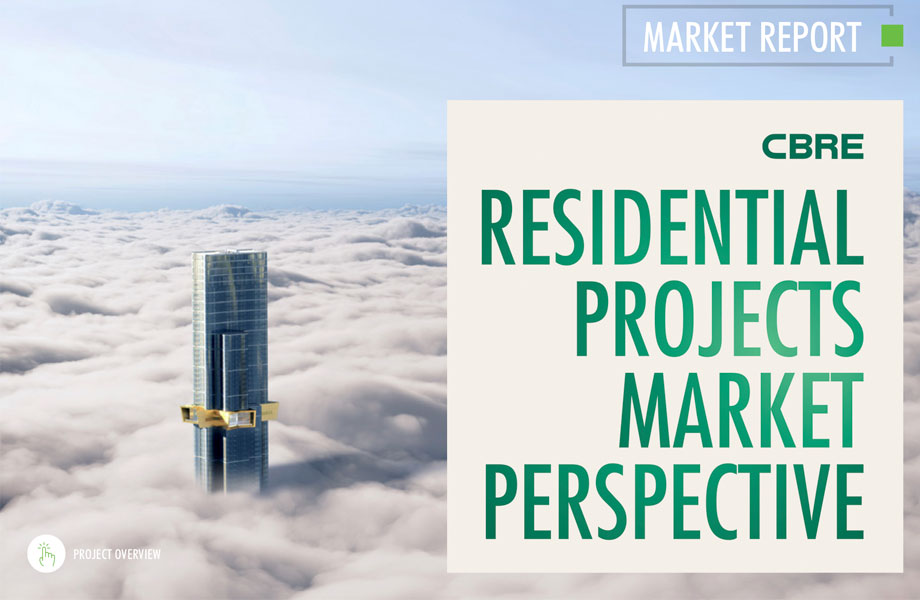 ▲ The Urban Developer and CBRE residential projects have teamed up on a quarterly report. Available to download now.