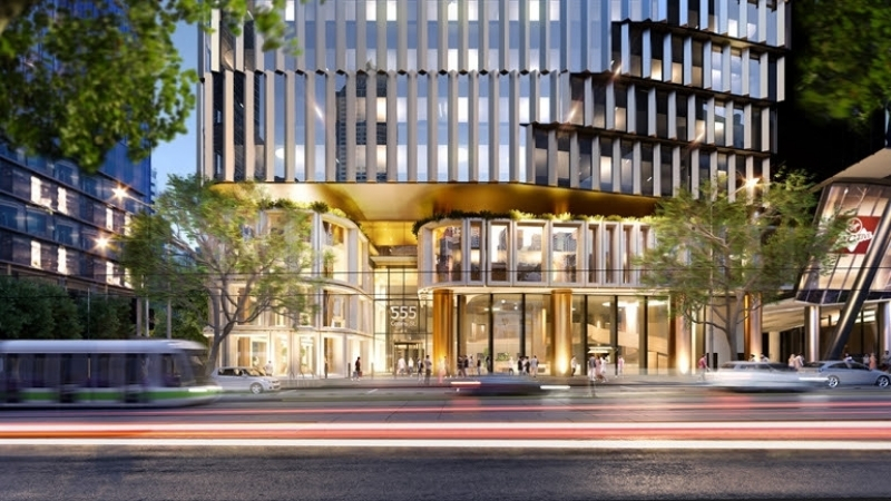 ▲ 555 Collins Street concept is the result of a collaboration between Charter Hall as the owner and developer, Cox Architecture and Gensler.