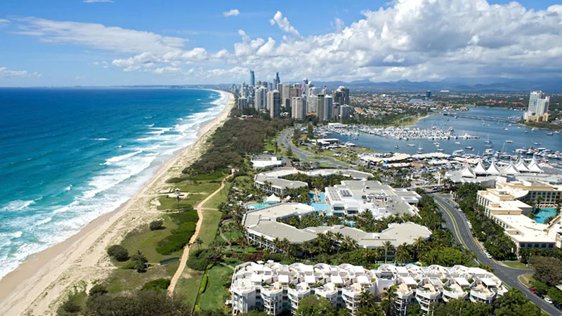 ▲ The Star said it will expand the Gold Coast Convention and Exhibition centre and revamp its Sheraton Mirage at The Spit (pictured) in exchange for exclusivity as the city's only casino operator.