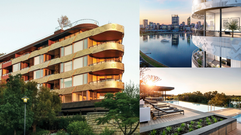 ▲ Edge Visionary Living's Botanical, Lumiere and River Residences.