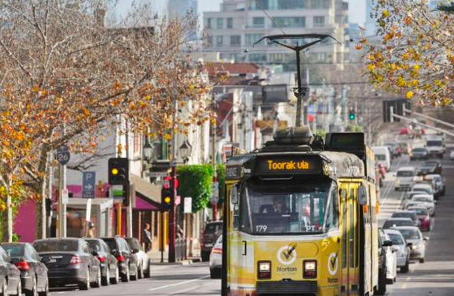 CoreLogic says Melbourne's prestigious Inner East has recorded the largest decline in values over the past twelve months.