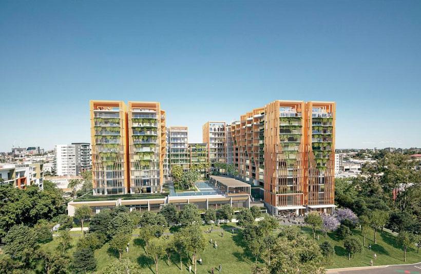 Crown Group West End development project Brisbane