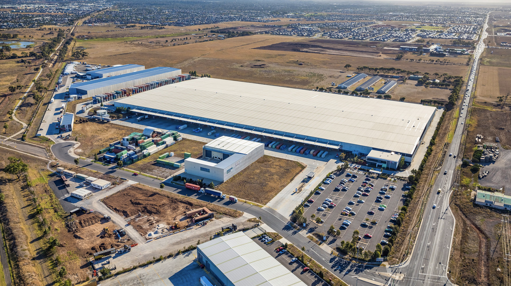 Logos acquired a Kmart Distribution Centre in Melbourne's west for $119 million last year.