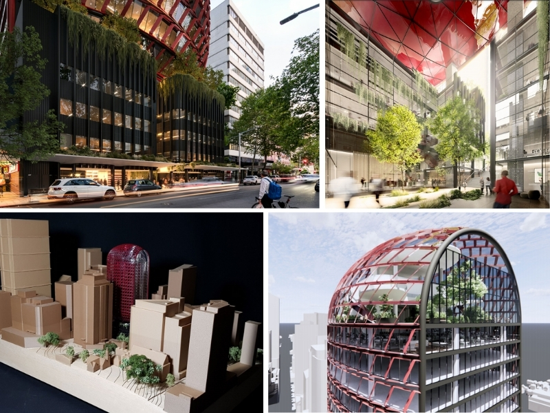 """▲ Thirdi's Luke Berry said they wanted to bring the """"wow factor"""" back to the North Sydney skyline."""