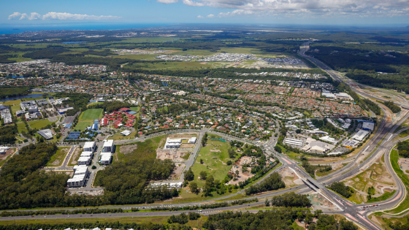 ▲ The Chancellor Park Driving Range at Sippy Downs is on the market. Image: CBRE