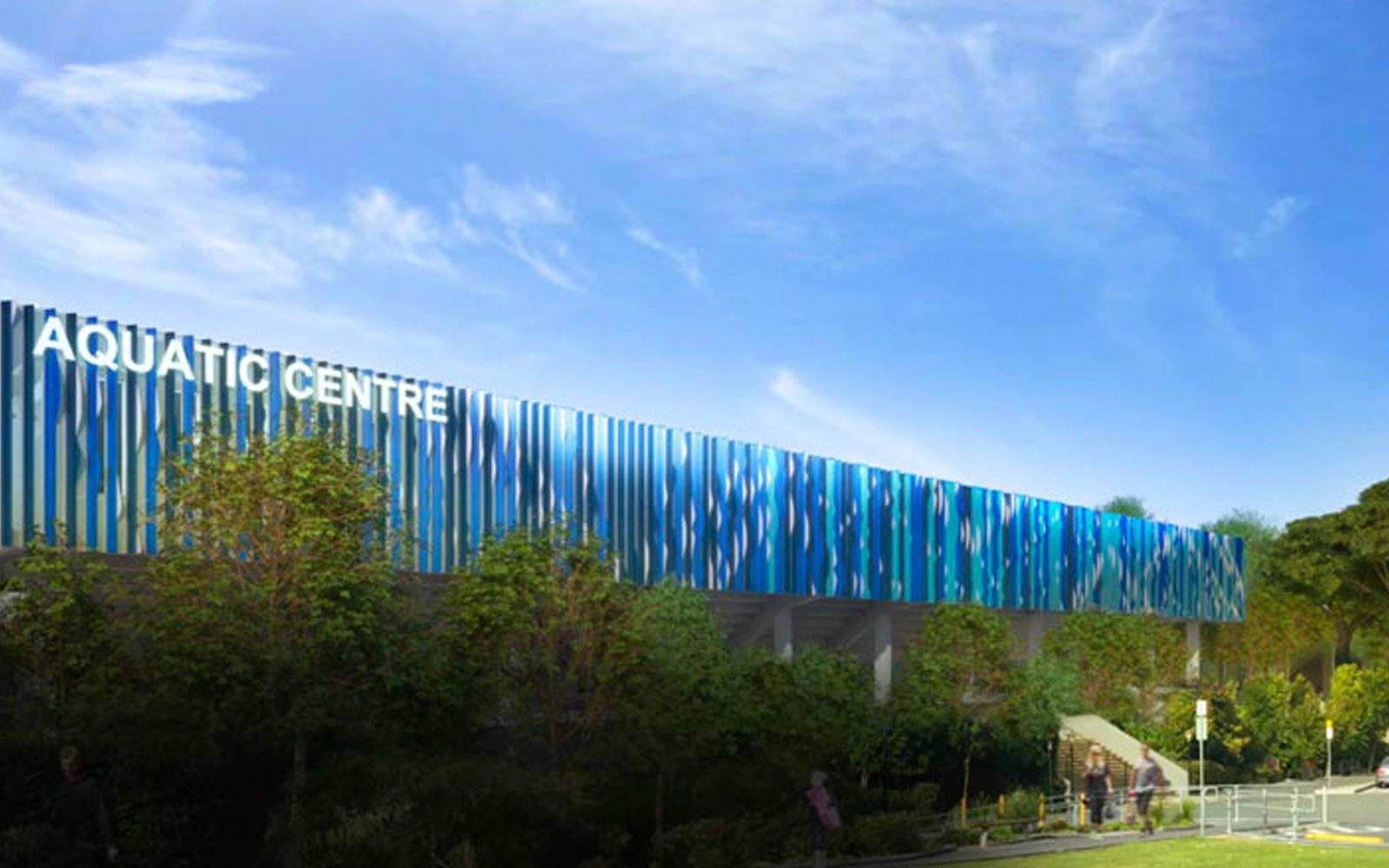 Brisbane Aquatic Centre Olympics Development