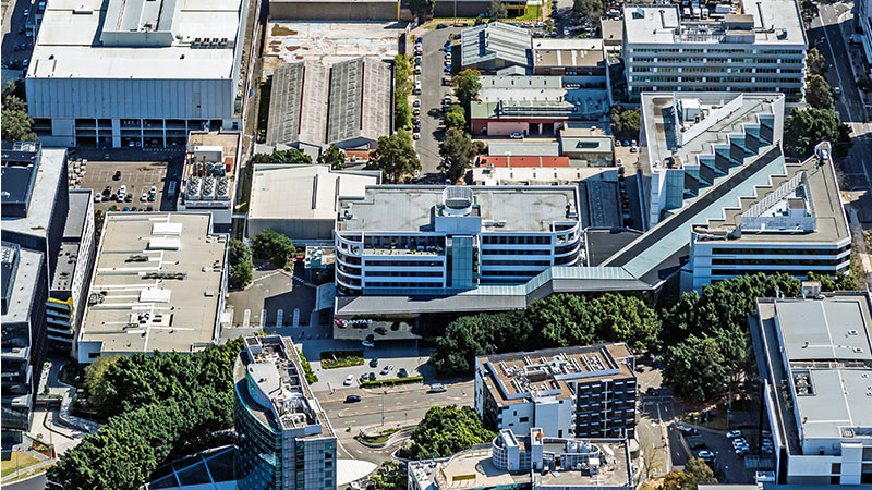 ▲ Colliers International have been appointed to sub-lease up to 20,000 sqm of space across two standalone buildings at 10 Bourke Road in Mascot, South Sydney.