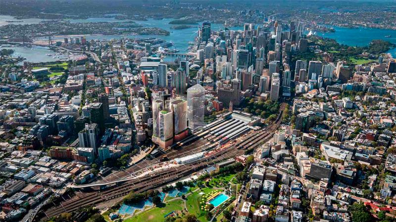 Tech Central Sydney Central Precinct