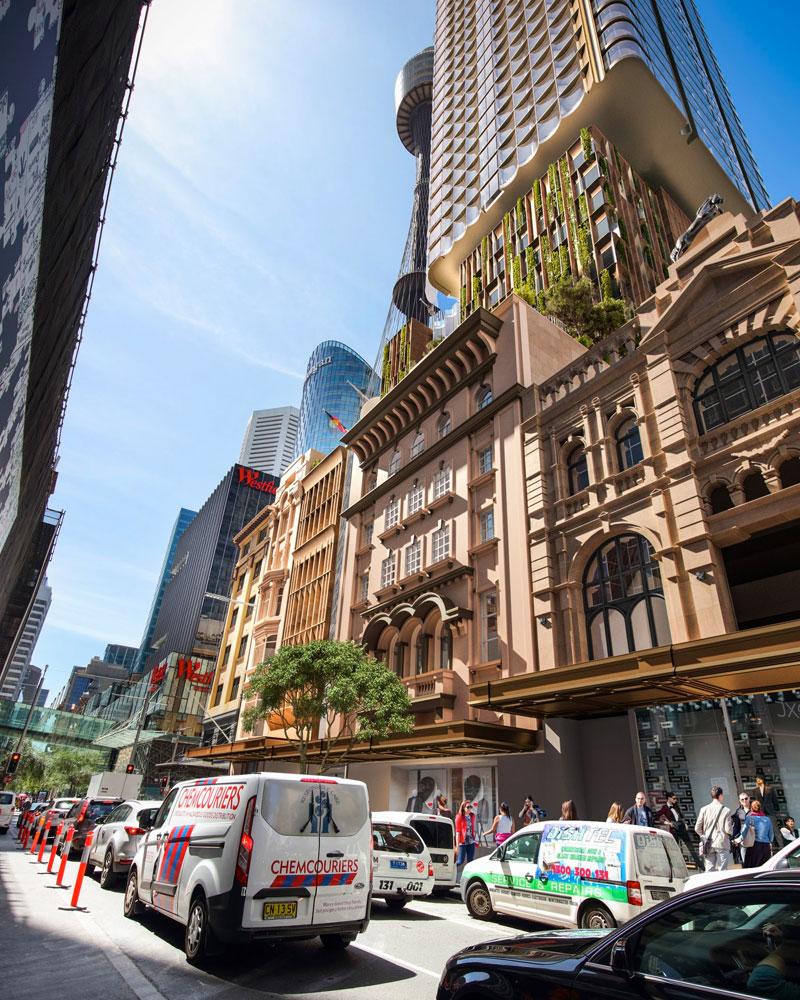 Sydney City Tattersalls Club development application BVN