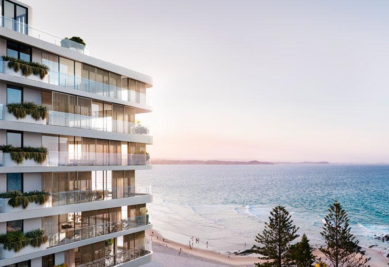 Flow Residences Gold Coast development project