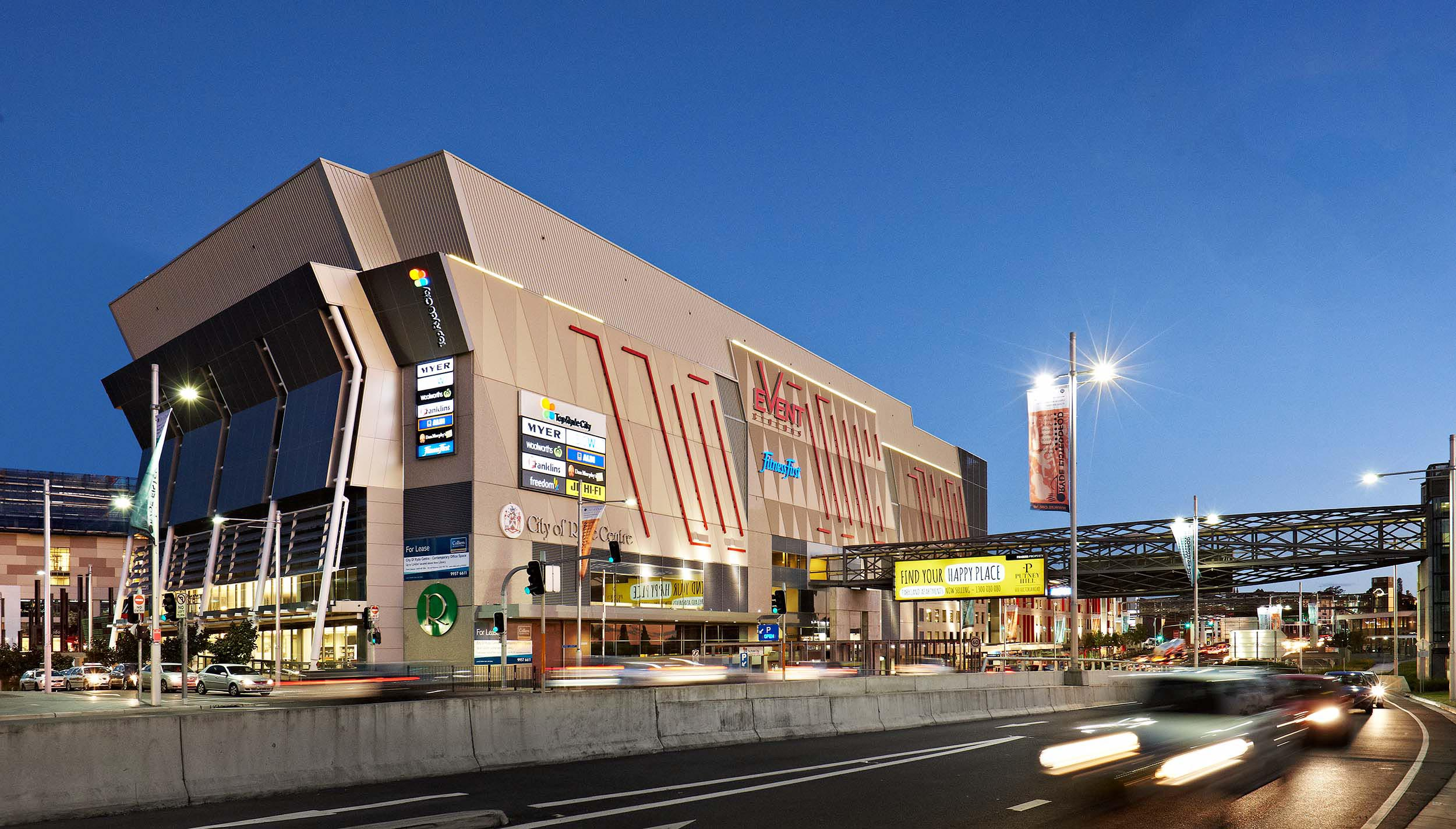 The Blackstone retail portfolio includes Top Ryde City in Sydney, Melbourne's Greensborough Plaza along with Westfield malls, which it bought from Scentre Group being Warrawong, Strathpine and Figtree.