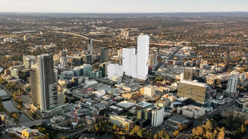 ▲ The Parramatta Square precinct overview.
